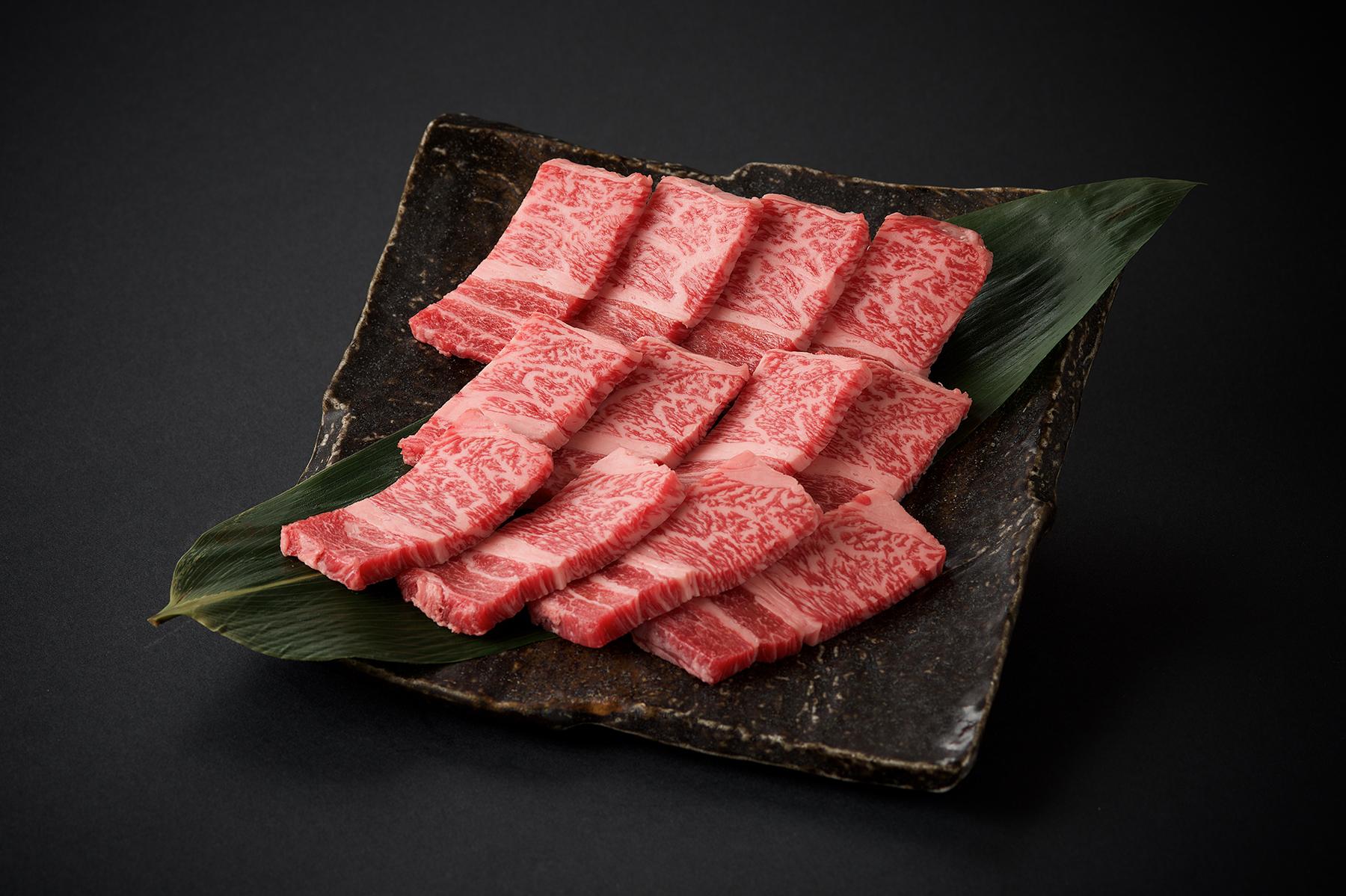 九州産黒毛和牛 ロース焼肉/100g(800)