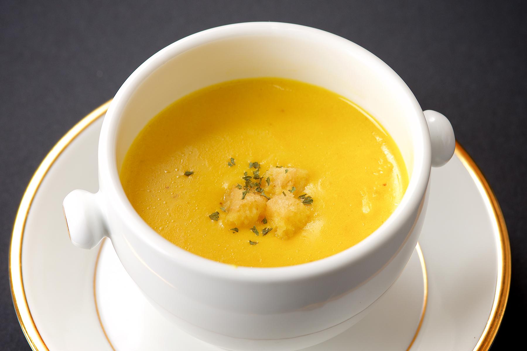 かぼちゃスープ-1
