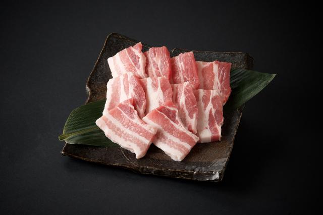 黒豚 バラ焼肉用/100g