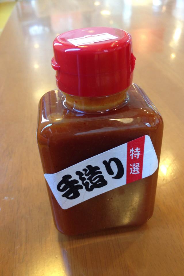 焼肉のたれ【味噌味】