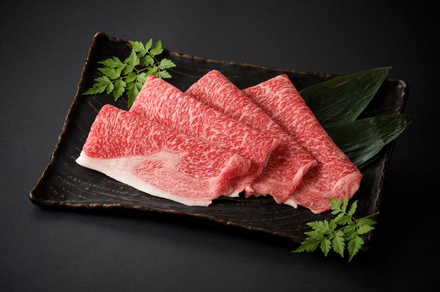 九州産黒毛和牛 ロースすきやき用/100g(1480)