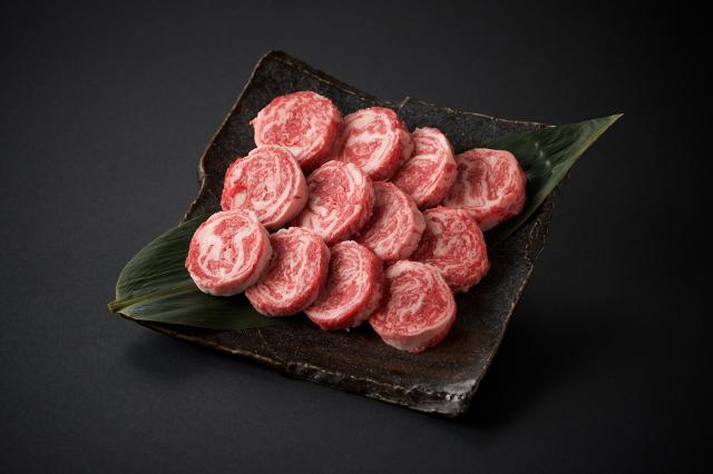 九州産黒毛和牛ミニロールステーキ/100g