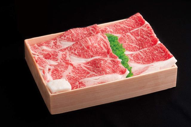 九州産黒毛和牛 ロースすき焼き用600g