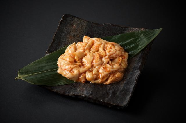 中津留味付ホルモン(辛口)-2