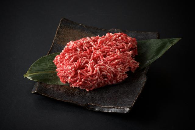 九州産黒毛和牛・とびうめ豚 合挽ミンチ-1