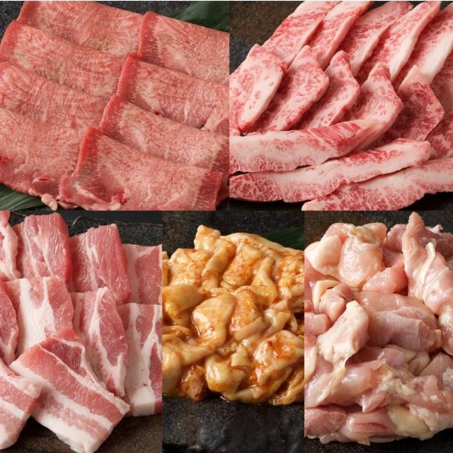 牛豚鶏 BBQセット メイン