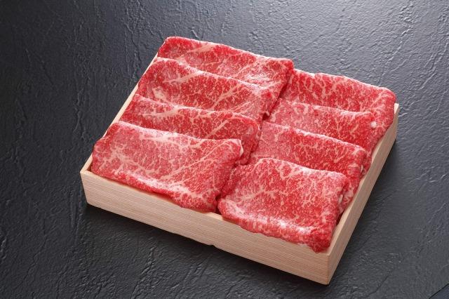 九州産黒毛和牛 特選モモすき焼き用600g