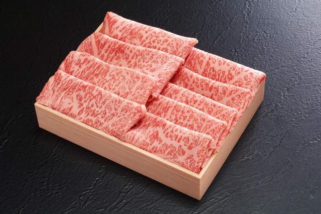 九州産黒毛和牛 特選ロースすき焼き用600g