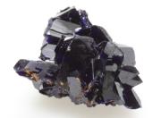 藍銅鉱 柱状結晶 モロッコ Aouli 01 メイン