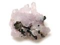 ローズクォーツ結晶_トルマリン結晶-1