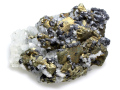 黄銅鉱と閃亜鉛鉱と水晶 尾太鉱山 01 メイン