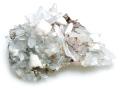 苦灰石と水晶 コソボTrepca鉱山 01 メイン