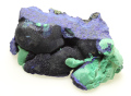 藍銅鉱と孔雀石 中国Liufengshan鉱山 01 メイン