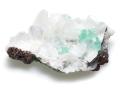 グリーンアポフィライトと束沸石 01 メイン