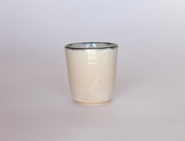 中里花子 ブルー皮鯨 ストレートカップ 【フリーカップ】【湯呑】【和食器】
