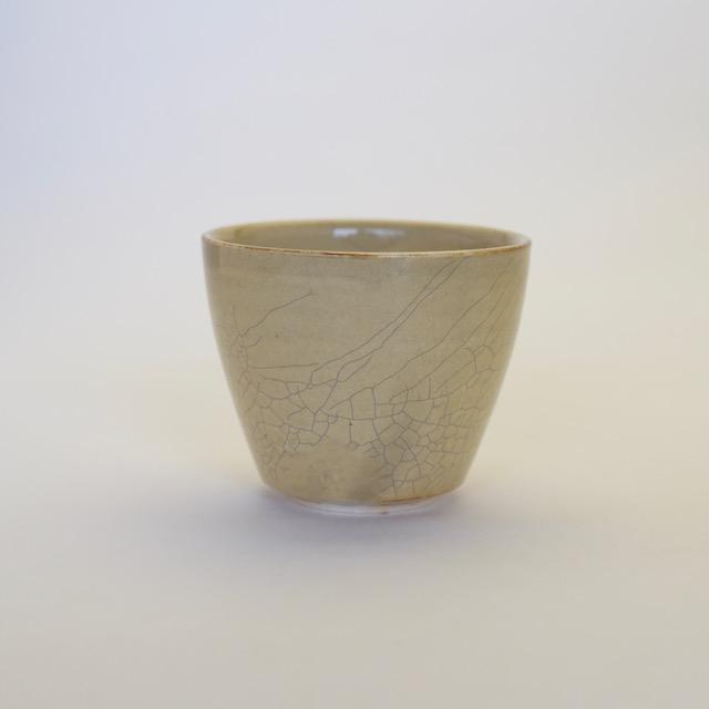 中里花子 貫入カラシカップ【フリーカップ】