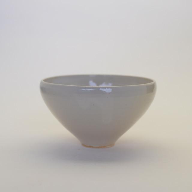 中里花子 貫入クリームごはん茶碗