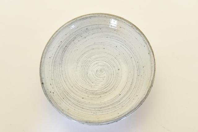 井銅心平 刷毛目皿