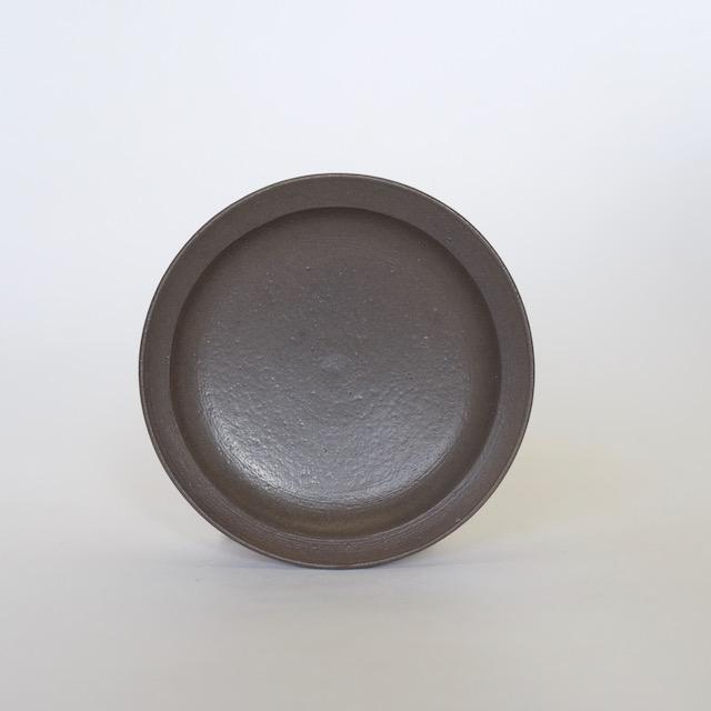 大庭一仁 アンティークグリーン 豆皿c