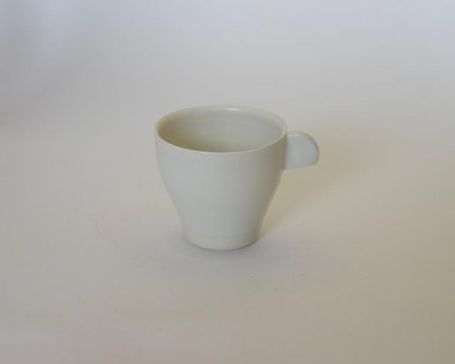 大庭一仁 リーチホワイトコーヒーカップD