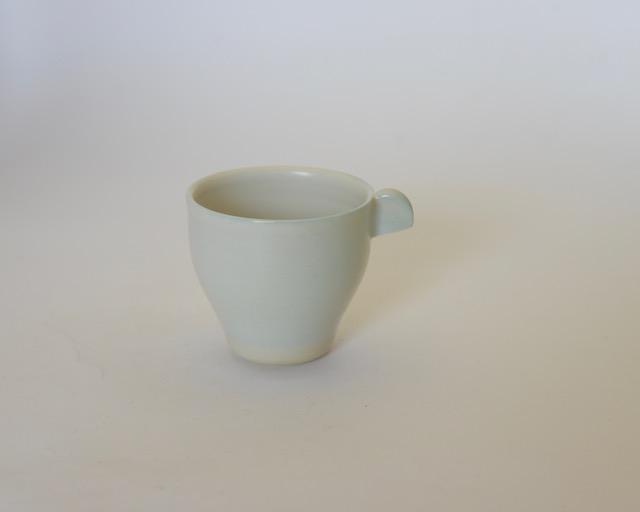 大庭一仁 リーチホワイトコーヒーカップG