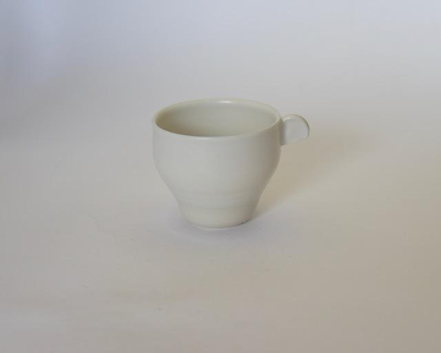 大庭一仁 リーチホワイトコーヒーカップH