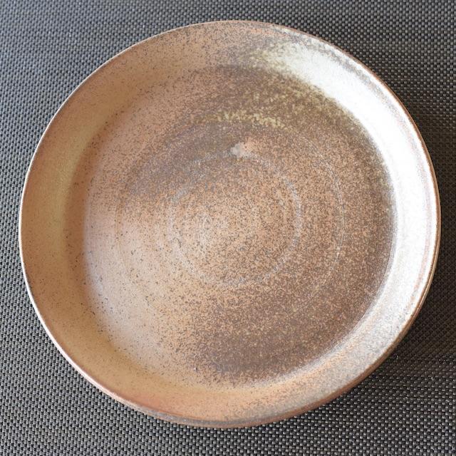 中里隆 アンダーソンランチ 木灰自然釉平皿