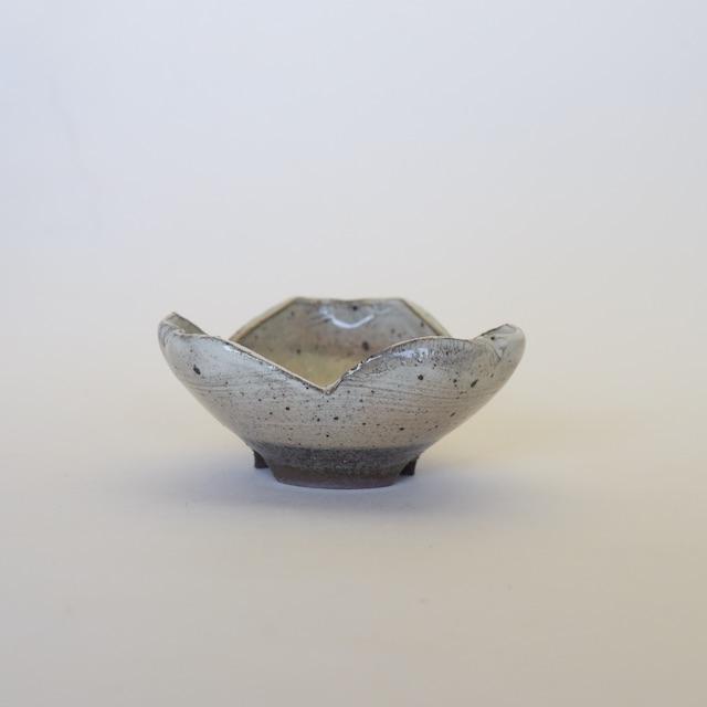 中里隆 唐津粉引割山椒小鉢