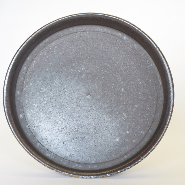 中里隆 アンダーソンランチ・焼き〆平皿