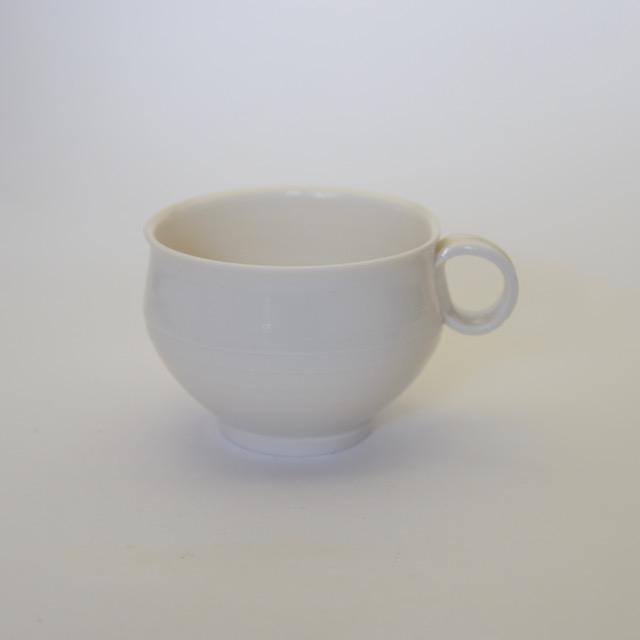 中里隆 スケルツコー 白磁マグカップ