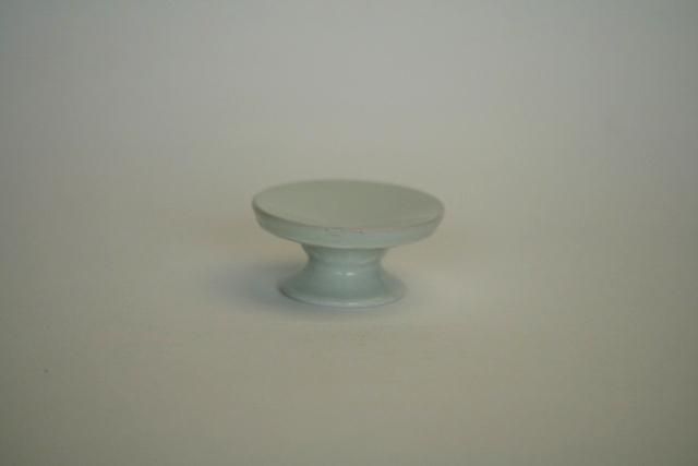 中里隆 アンダーソンランチ 白磁高脚豆皿 【和食器】