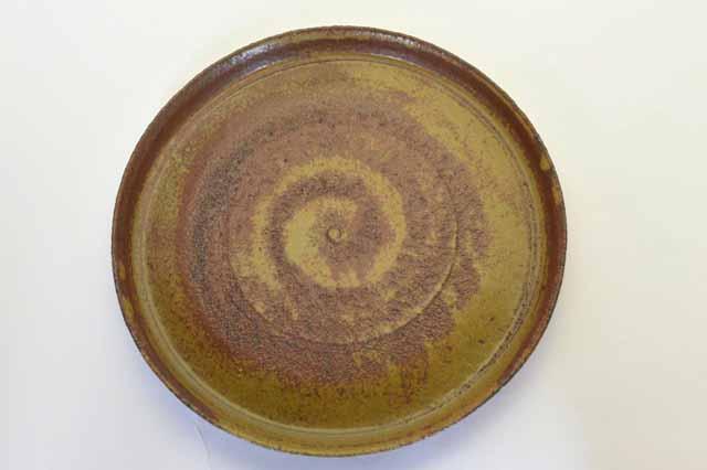 中里隆 アンダーソンランチ アセロ釉平皿【丸皿】【送料無料】