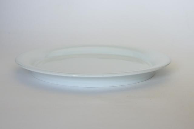 中里隆 日常のうつわ プレートL 【平皿】【白磁器】