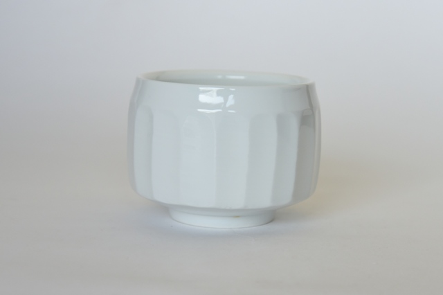 中里隆 日常のうつわ 面取碗 【小鉢】【白磁器】
