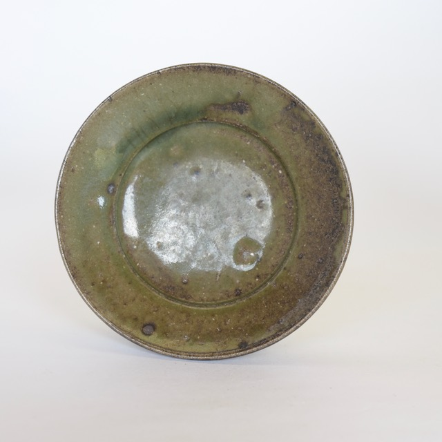 土屋由起子 灰釉皿C