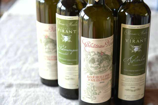 Château Virant フランス産 高級オリーブオイル シャトーヴィラン・エクストラ・バージンオリーブオイル6本x500ml 【送料無料】