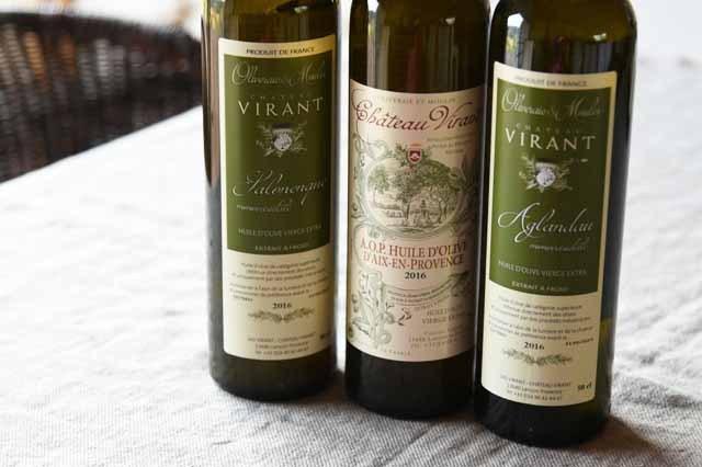 Château Virant フランス産 高級オリーブオイル シャトーヴィラン エクストラ・バージンオリーブオイル3本セット 【フランス直輸入】【500mlx3本】 【送料無料】