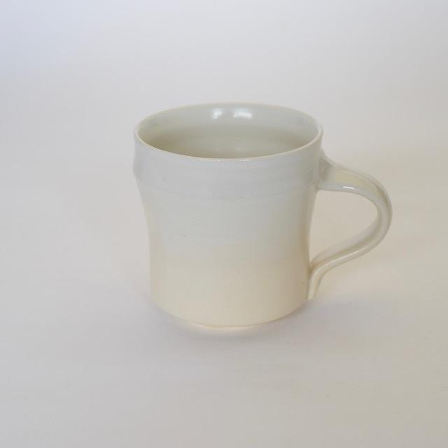中里花子 ホワイト マグ 【コーヒーカップ】