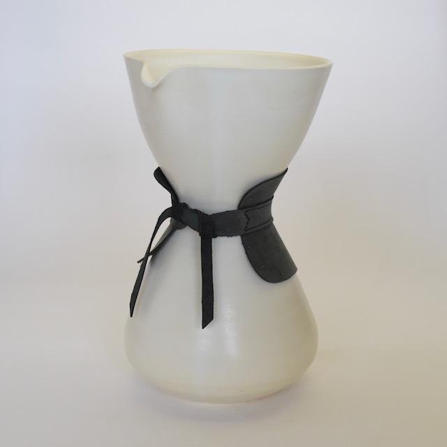 中里花子 ホワイトコーヒードリッパー【コーヒーポット】【茶器】【陶器】【送料無料】