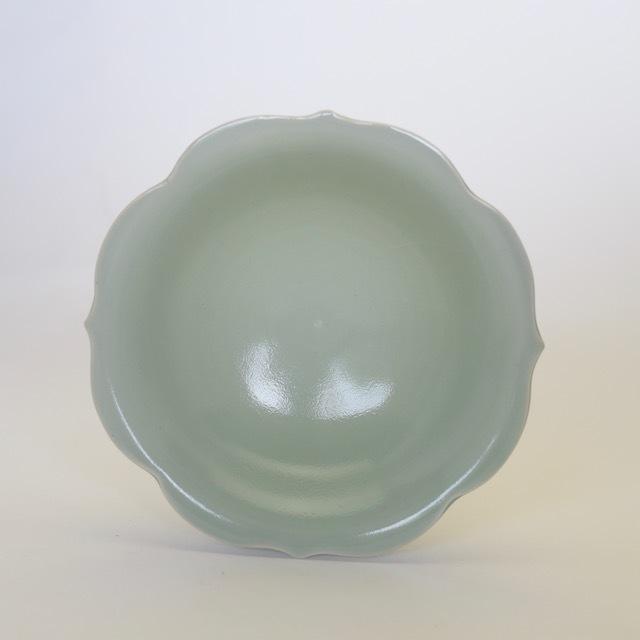 中里花子 チャクラボウル 緑青磁