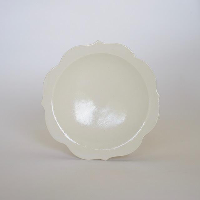 中里花子 ホワイトチャクラ小皿