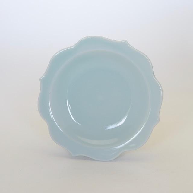 中里花子 青磁チャクラ小皿