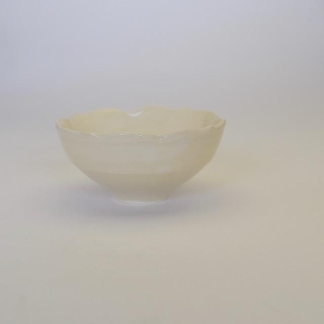 中里花子 チャクラ小鉢 ホワイト