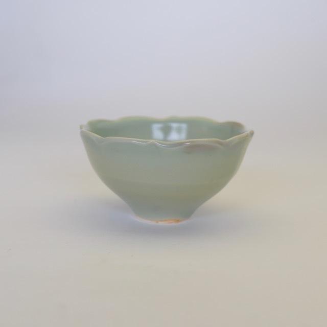 中里花子 チャクラ小鉢 緑青磁