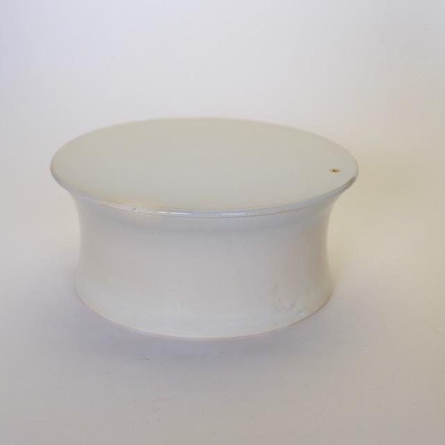 中里花子 ホワイト台皿