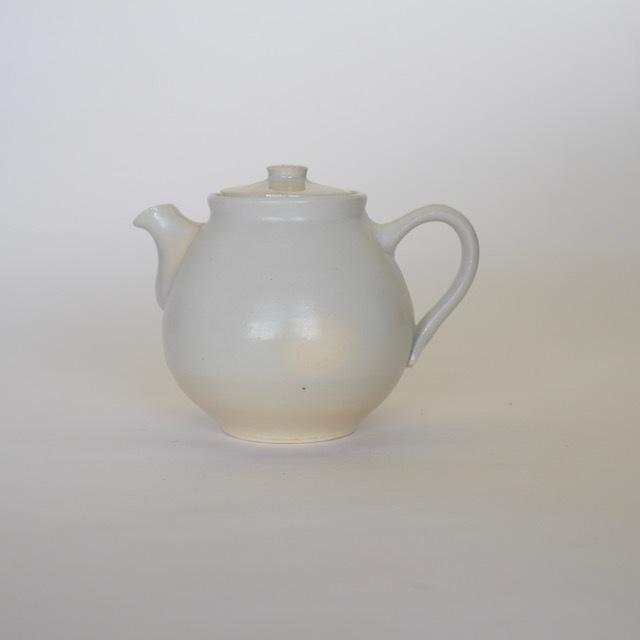 中里花子 ホワイトポット【茶器】