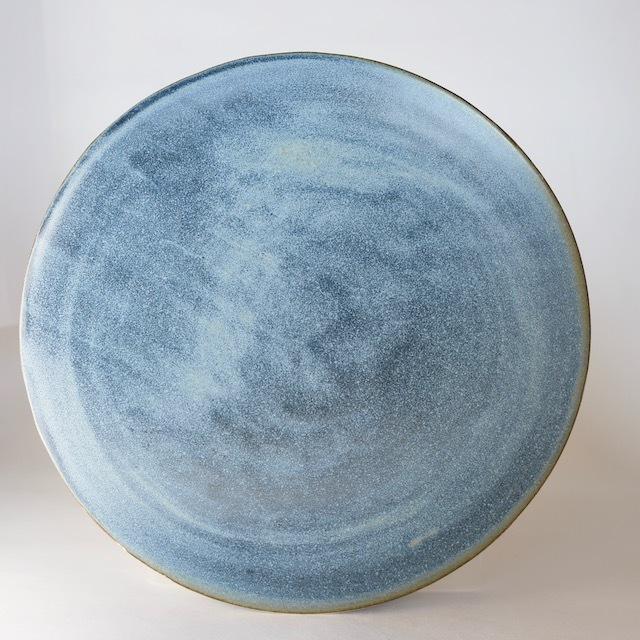 中里花子 ブルージーン台皿