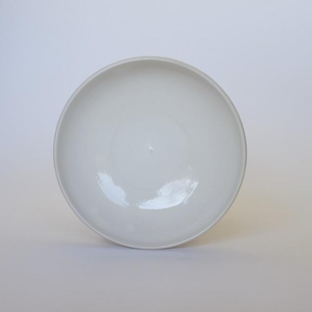 中里花子 おへそ小皿  ホワイト