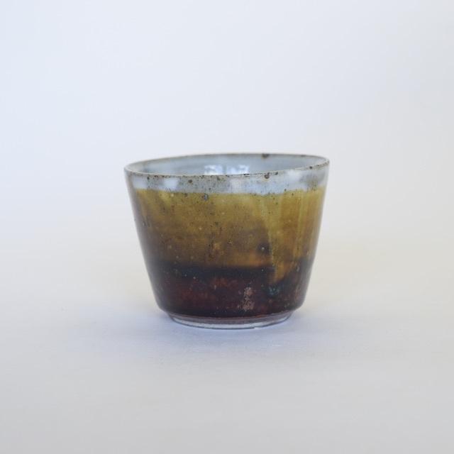 中里花子 飴釉フリーカップ 【小鉢】