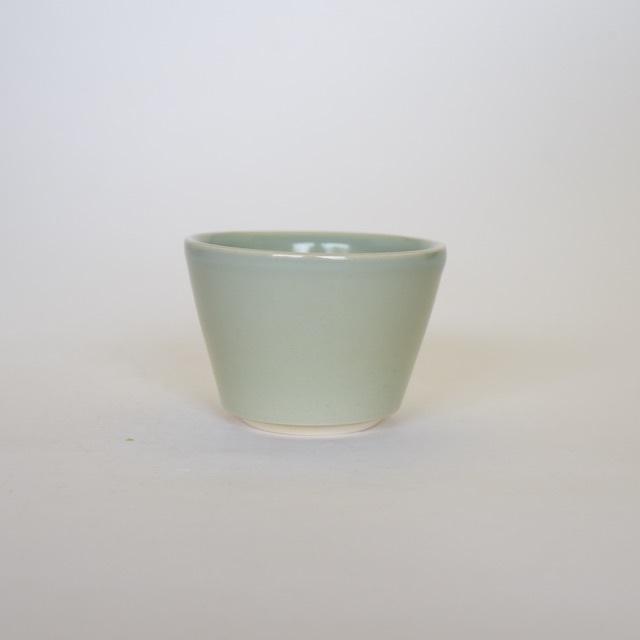 中里花子 緑青磁蕎麦猪口【フリーカップ】【小鉢】